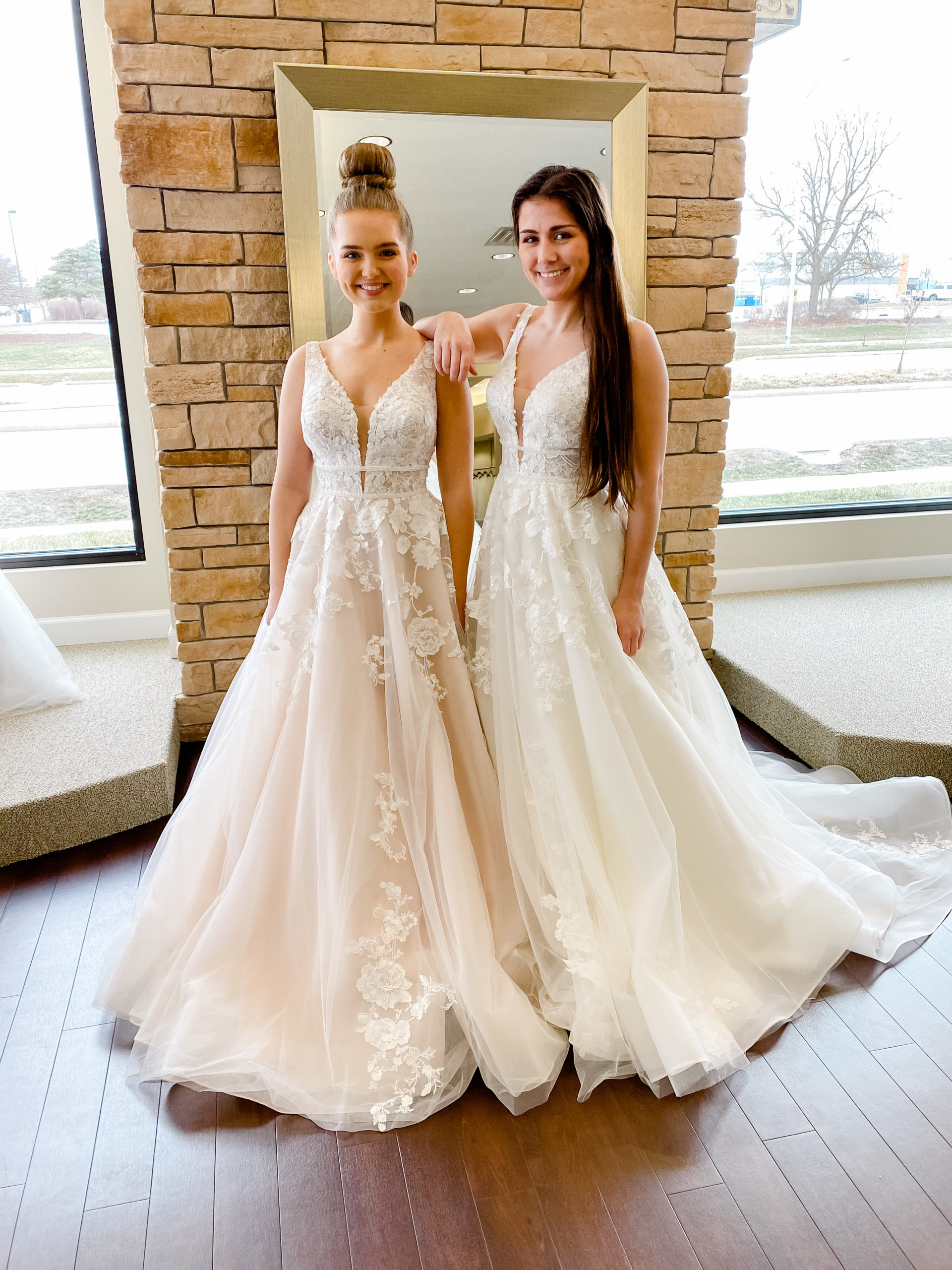 In Which Color Should I Order My Wedding Dress Ivory White Or Blush One Fine Day