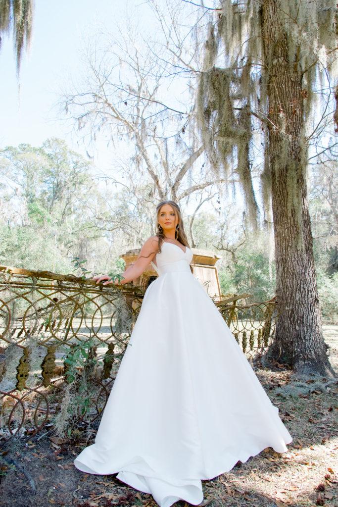 classic ballgwon wedding dress